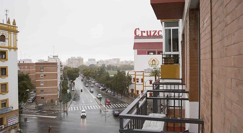 Apartamentos Cruz del Campo localizacion