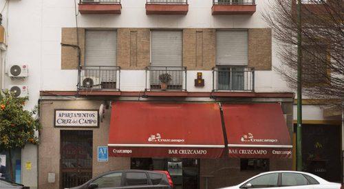 Apartamentos Cruz del Campo recepcion