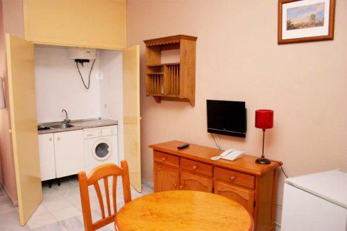 Cocina Apartamentos Estándar Cruzcampo